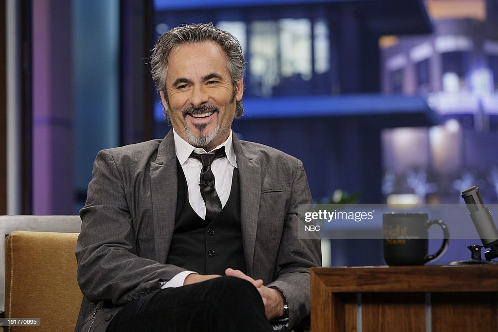 Golf broadcaster David Feherty during an interview on February 15 2013