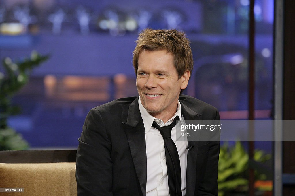 Actor Kevin Bacon during an interview on February 18, 2013 --