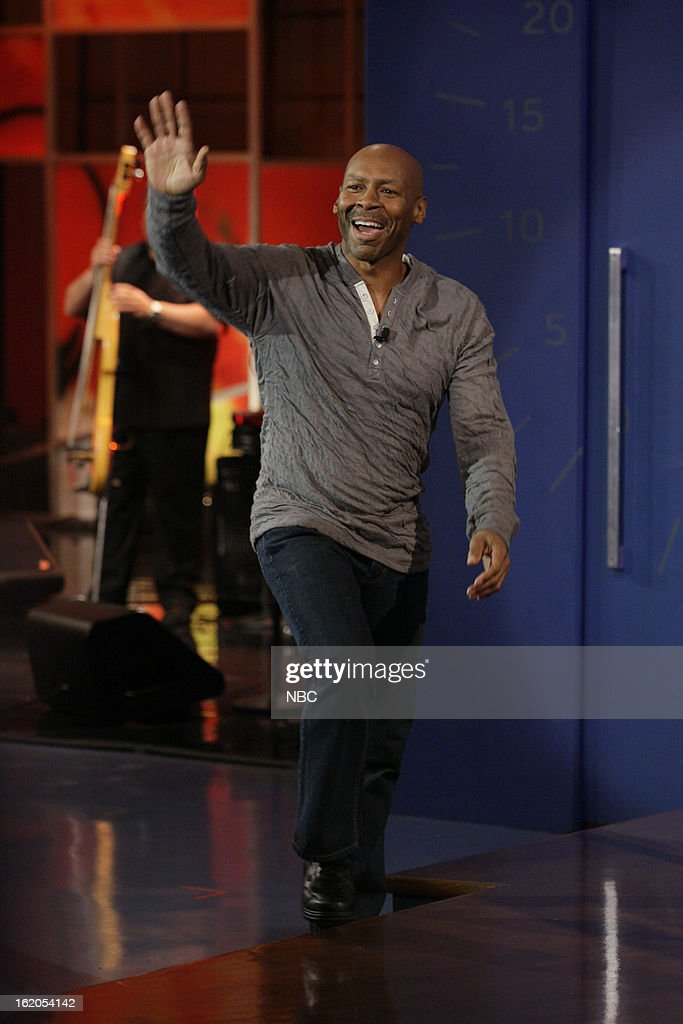 Musical guest Kevin Eubanks on February 18, 2013 --