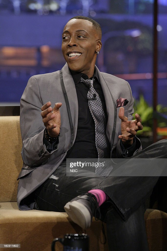 Comedian <a gi-track='captionPersonalityLinkClicked' href=/galleries/search?phrase=Arsenio+Hall&family=editorial&specificpeople=211441 ng-click='$event.stopPropagation()'>Arsenio Hall</a> during an interview on February 21, 2013 --