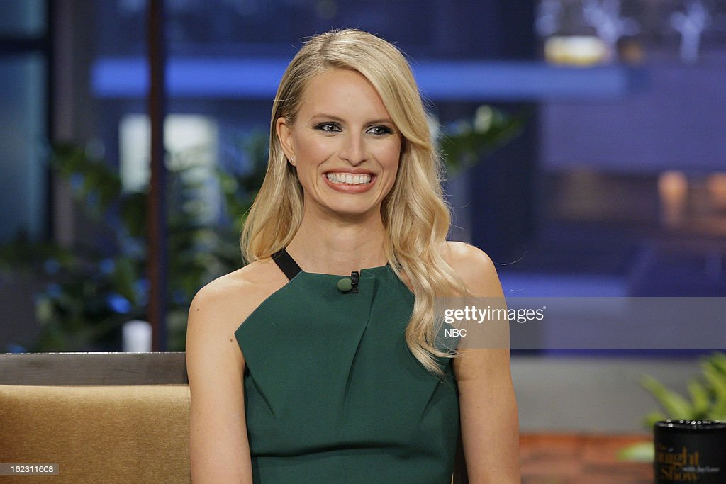 Model <a gi-track='captionPersonalityLinkClicked' href=/galleries/search?phrase=Karolina+Kurkova&family=editorial&specificpeople=202513 ng-click='$event.stopPropagation()'>Karolina Kurkova</a> during an interview on February 21, 2013 --