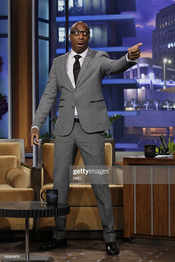 Comedian J.B.Smoove during an interview on February 27, 2013 --