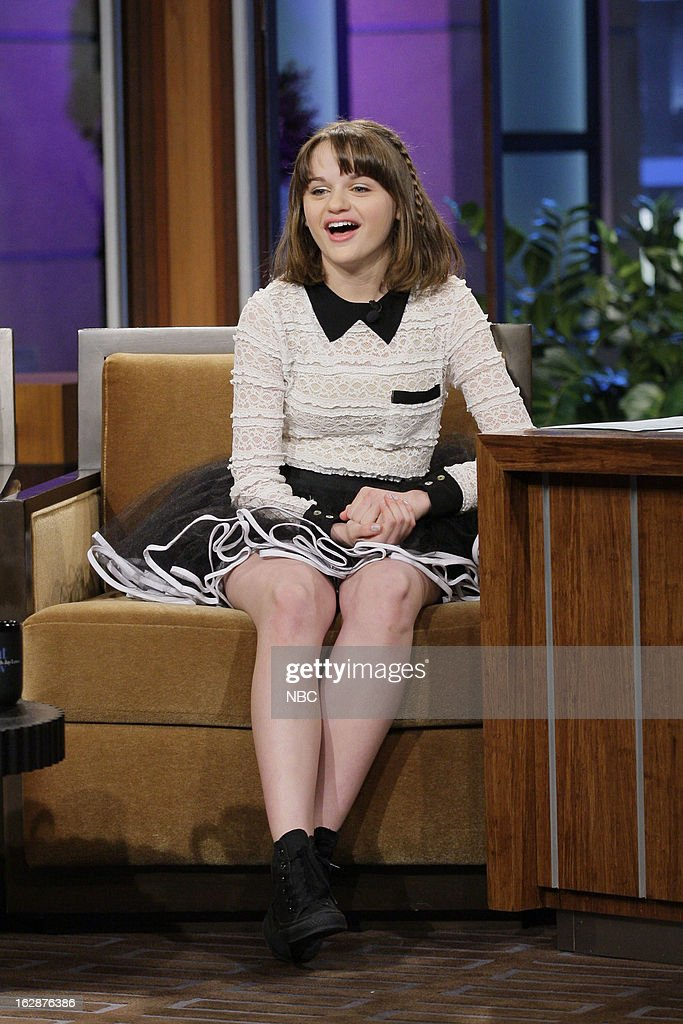 Actress <a gi-track='captionPersonalityLinkClicked' href=/galleries/search?phrase=Joey+King+-+Actress&family=editorial&specificpeople=2264584 ng-click='$event.stopPropagation()'>Joey King</a> during an interview on February 28, 2013 --