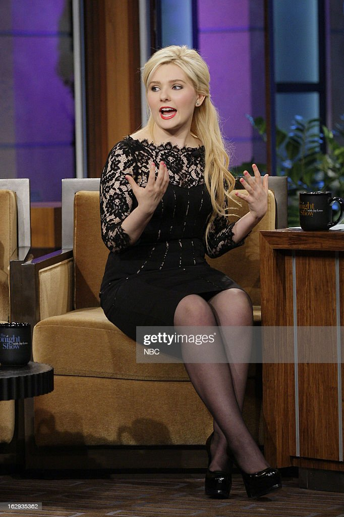 Actress Abigail Breslin during an interview on March 1, 2013 --