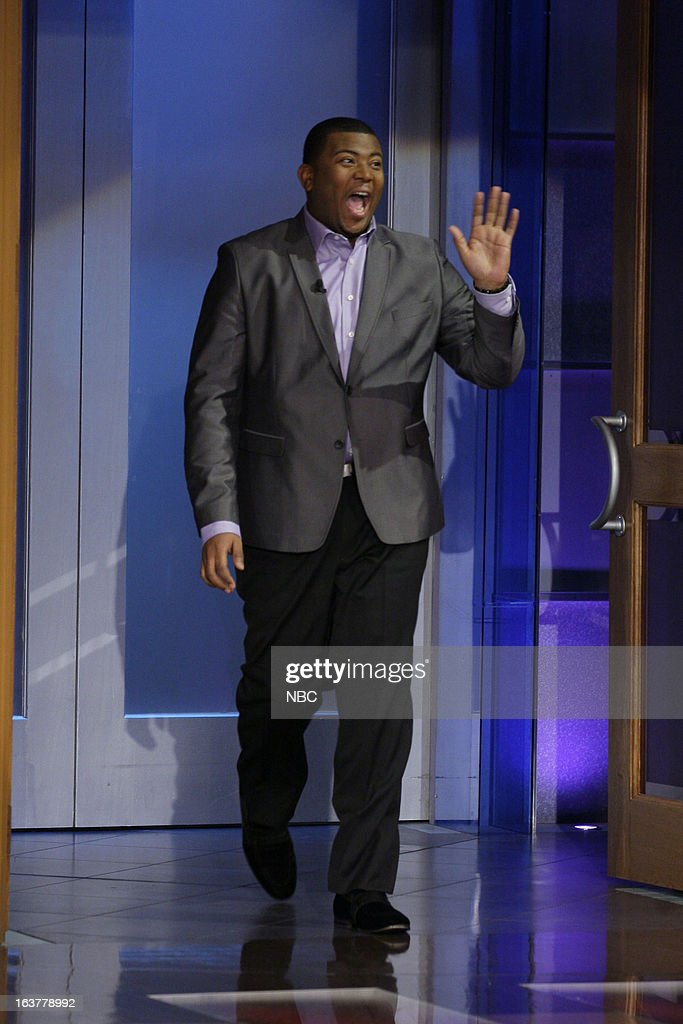 American Idol castoff Curtis Finch Jr arrives on March 15, 2013 --