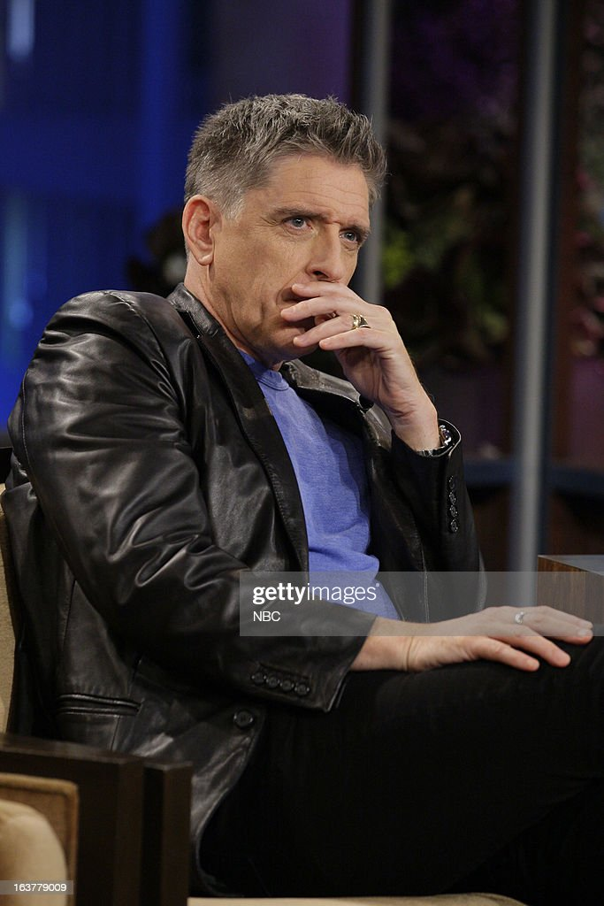 Talk show host <a gi-track='captionPersonalityLinkClicked' href=/galleries/search?phrase=Craig+Ferguson+-+Presentador+de+Talk+Show&family=editorial&specificpeople=204509 ng-click='$event.stopPropagation()'>Craig Ferguson</a> during an interview on March 15, 2013 --