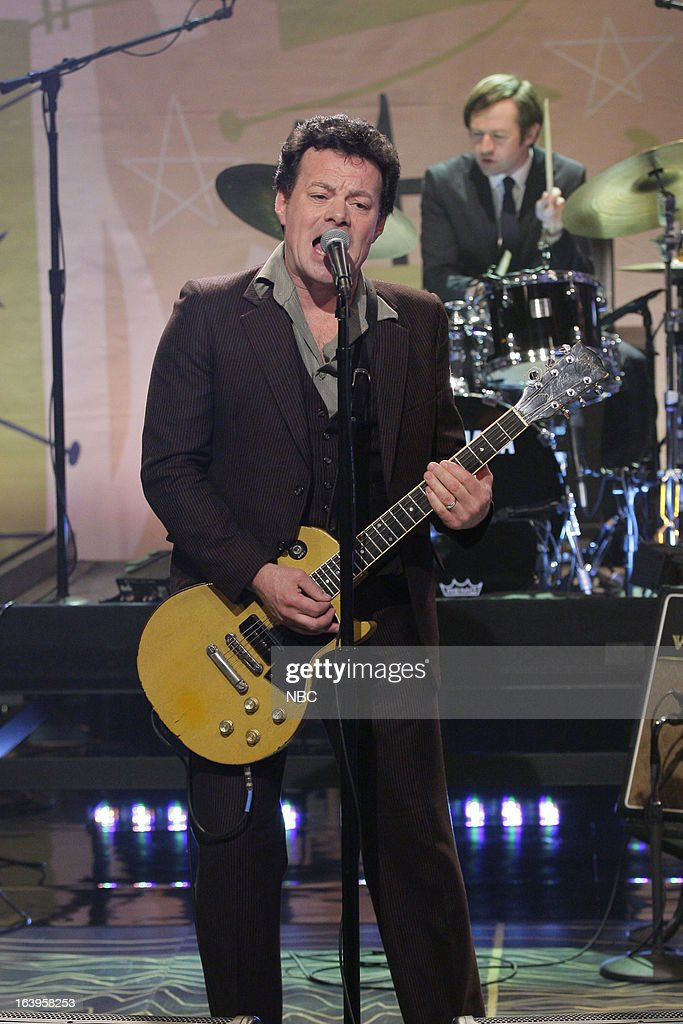 Musical guest James Hunter performs on March 18, 2013 --