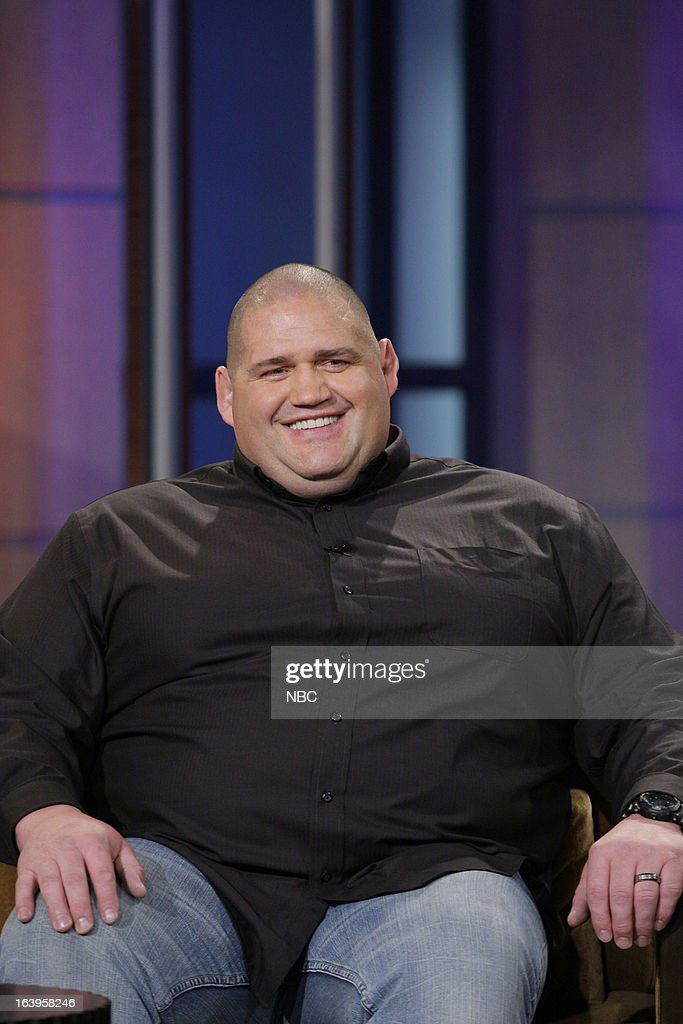 Olympic Wrestlers Rulon Gardner during an interview on March 18 2013