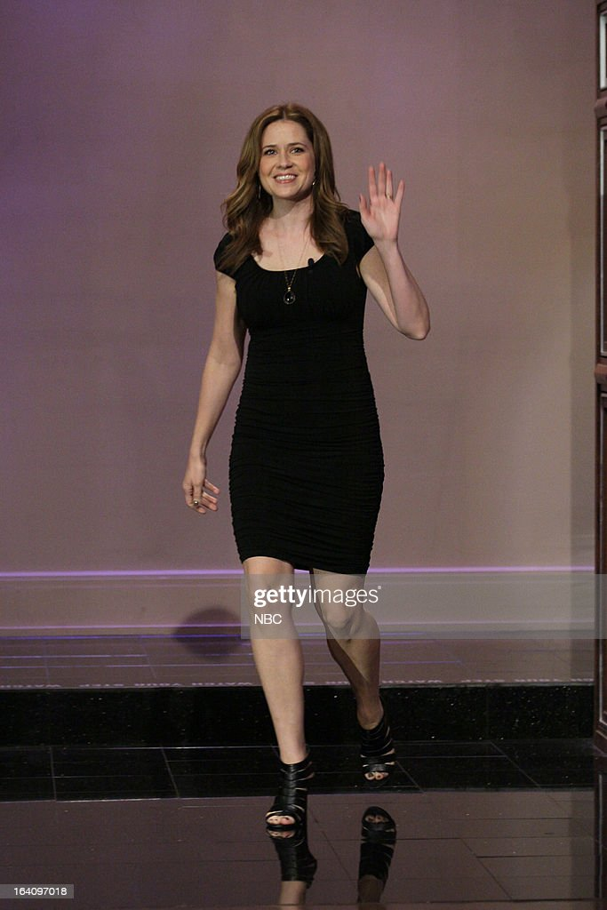 Actress Jenna Fischer arrives on March 19, 2013 --