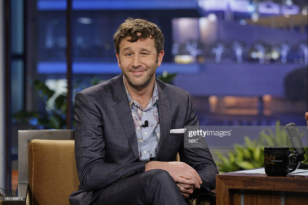 Actor Chris O'Dowd during an interview on March 20, 2013 --