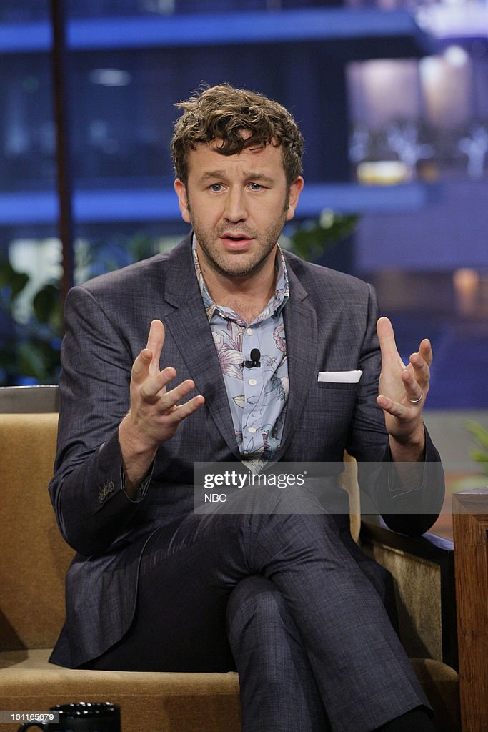 Actor <a gi-track='captionPersonalityLinkClicked' href=/galleries/search?phrase=Chris+O%27Dowd&family=editorial&specificpeople=814031 ng-click='$event.stopPropagation()'>Chris O'Dowd</a> during an interview on March 20, 2013 --