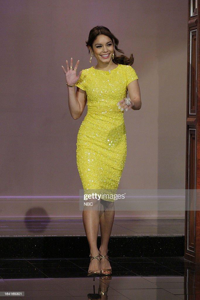 Actress Vanessa Hudgens arrives on March 20, 2013 --
