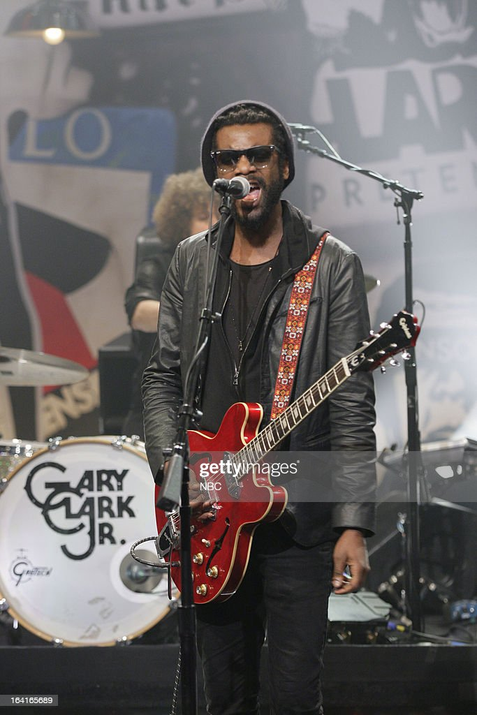 Musical guest Gary Clark Jr. performs on March 20, 2013 --