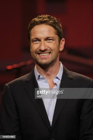 Actor Gerard Butler on March 22 2013