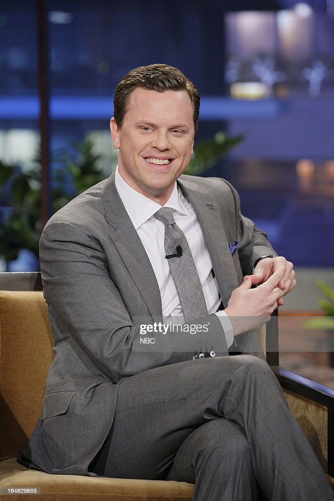 Willie Geist during an interview on March 28, 2013 --