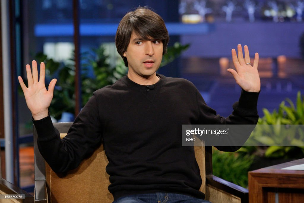 Comedian Demetri Martin during an interview on April 5, 2013 --