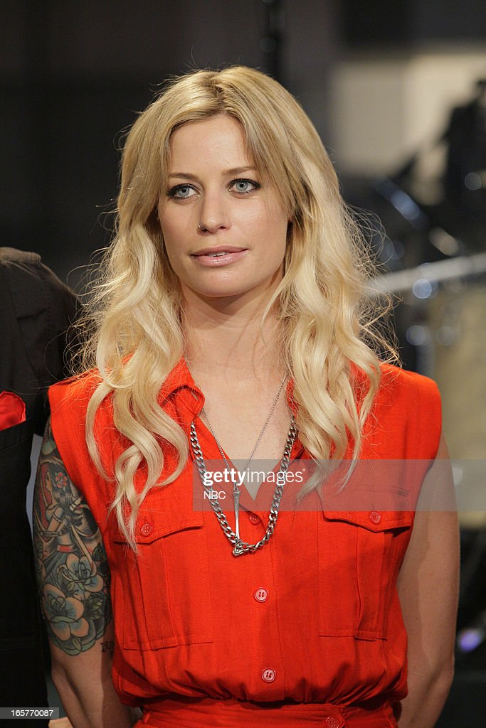 Musical guest <a gi-track='captionPersonalityLinkClicked' href=/galleries/search?phrase=Gin+Wigmore&family=editorial&specificpeople=5447633 ng-click='$event.stopPropagation()'>Gin Wigmore</a> on April 5, 2013 --