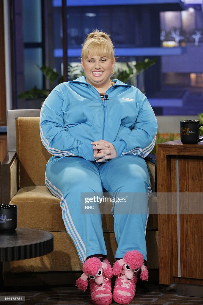 Actress Rebel Wilson during an interview on April 9, 2013 --