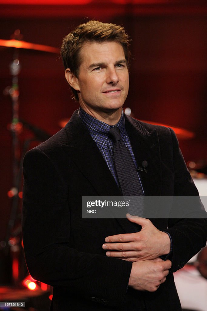 Actor <a gi-track='captionPersonalityLinkClicked' href=/galleries/search?phrase=Tom+Cruise&family=editorial&specificpeople=156405 ng-click='$event.stopPropagation()'>Tom Cruise</a> on April 24, 2013 --