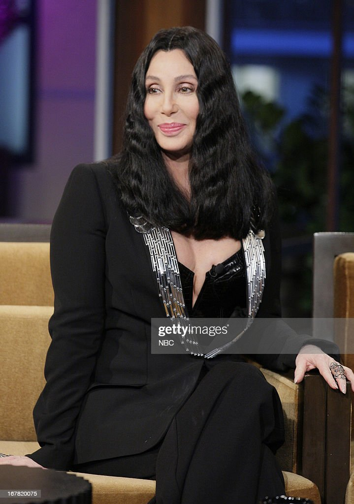 Musician <a gi-track='captionPersonalityLinkClicked' href=/galleries/search?phrase=Cher+-+K%C3%BCnstlerin&family=editorial&specificpeople=203036 ng-click='$event.stopPropagation()'>Cher</a> during an interview on April 30, 2013 --