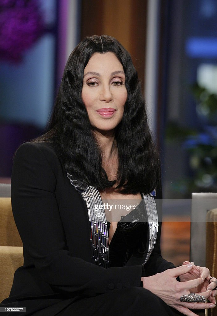 Musician <a gi-track='captionPersonalityLinkClicked' href=/galleries/search?phrase=Cher+-+Artiste&family=editorial&specificpeople=203036 ng-click='$event.stopPropagation()'>Cher</a> during an interview on April 30, 2013 --