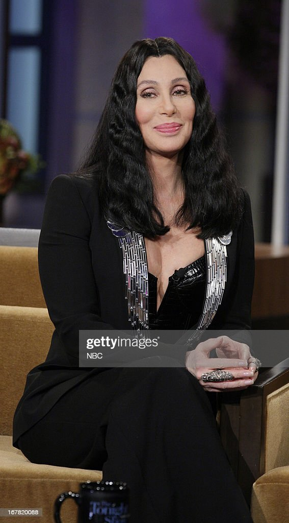 Musician <a gi-track='captionPersonalityLinkClicked' href=/galleries/search?phrase=Cher+-+Artist&family=editorial&specificpeople=203036 ng-click='$event.stopPropagation()'>Cher</a> during an interview on April 30, 2013 --