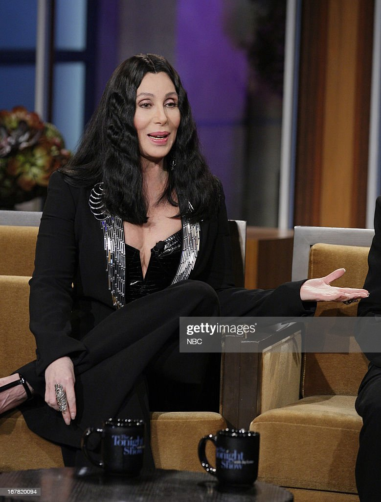 Musician <a gi-track='captionPersonalityLinkClicked' href=/galleries/search?phrase=Cher+-+Artista&family=editorial&specificpeople=203036 ng-click='$event.stopPropagation()'>Cher</a> during an interview on April 30, 2013 --