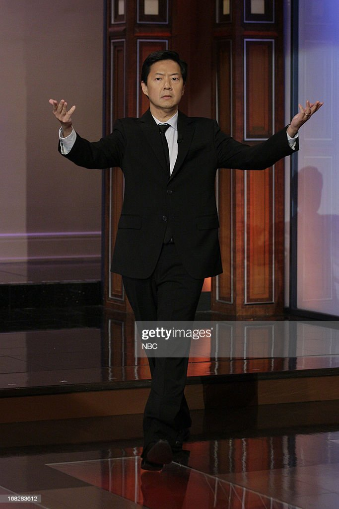Actor Ken Jeong arrives on May 7, 2013 --