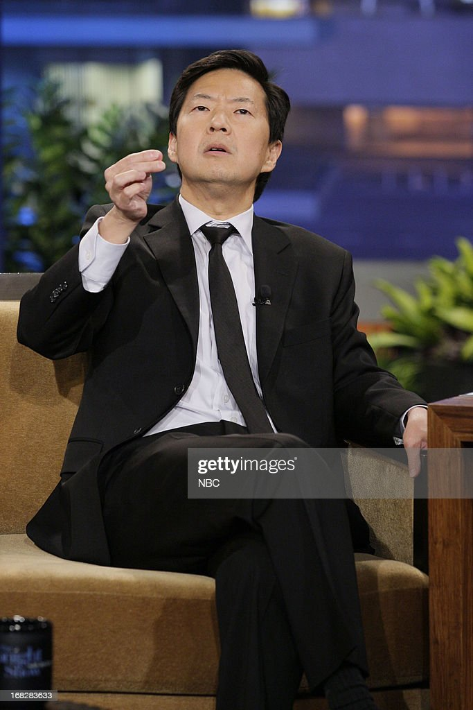 Actor <a gi-track='captionPersonalityLinkClicked' href=/galleries/search?phrase=Ken+Jeong&family=editorial&specificpeople=4195975 ng-click='$event.stopPropagation()'>Ken Jeong</a> during an interview on May 7, 2013 --