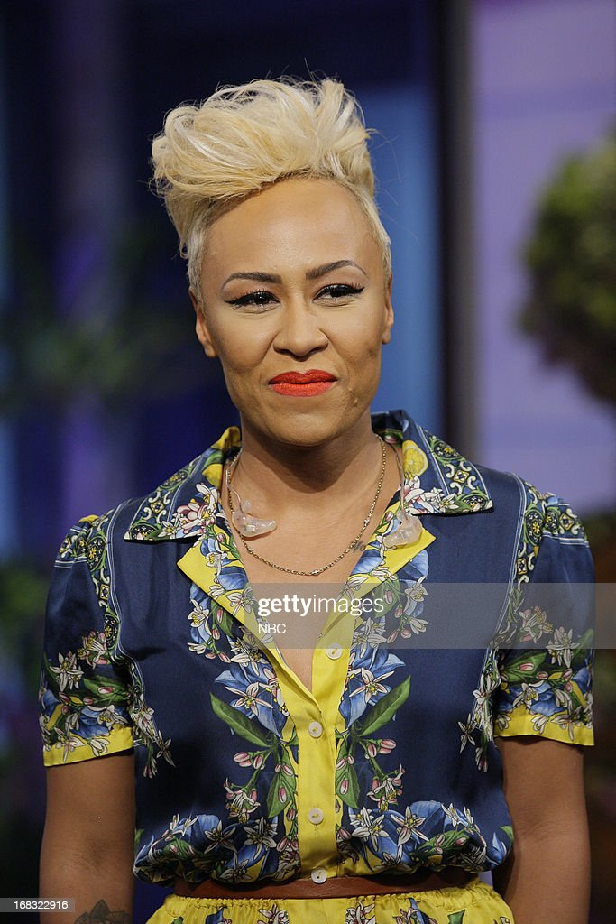 Musical guests Emeli Sande onstage May 8, 2013 --
