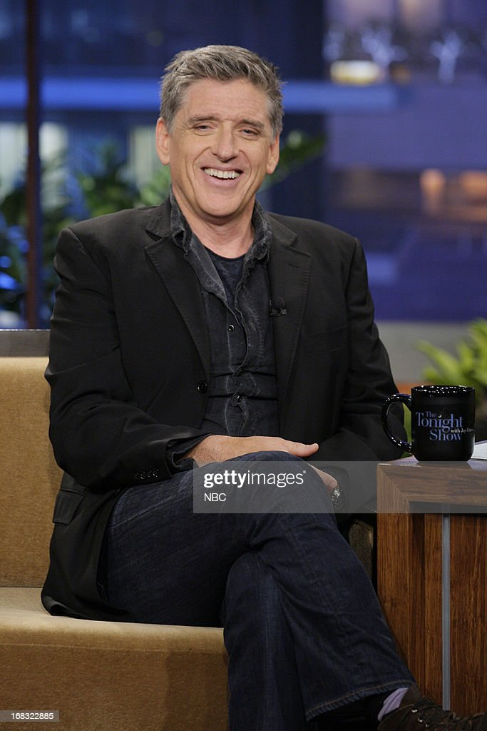 Talk Show host Craig Ferguson during an interview on May 8, 2013 --