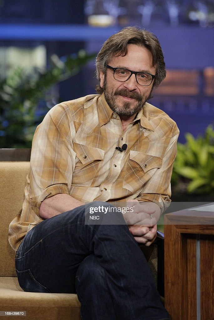 Comedian Marc Maron during an interview on May 9, 2013 --