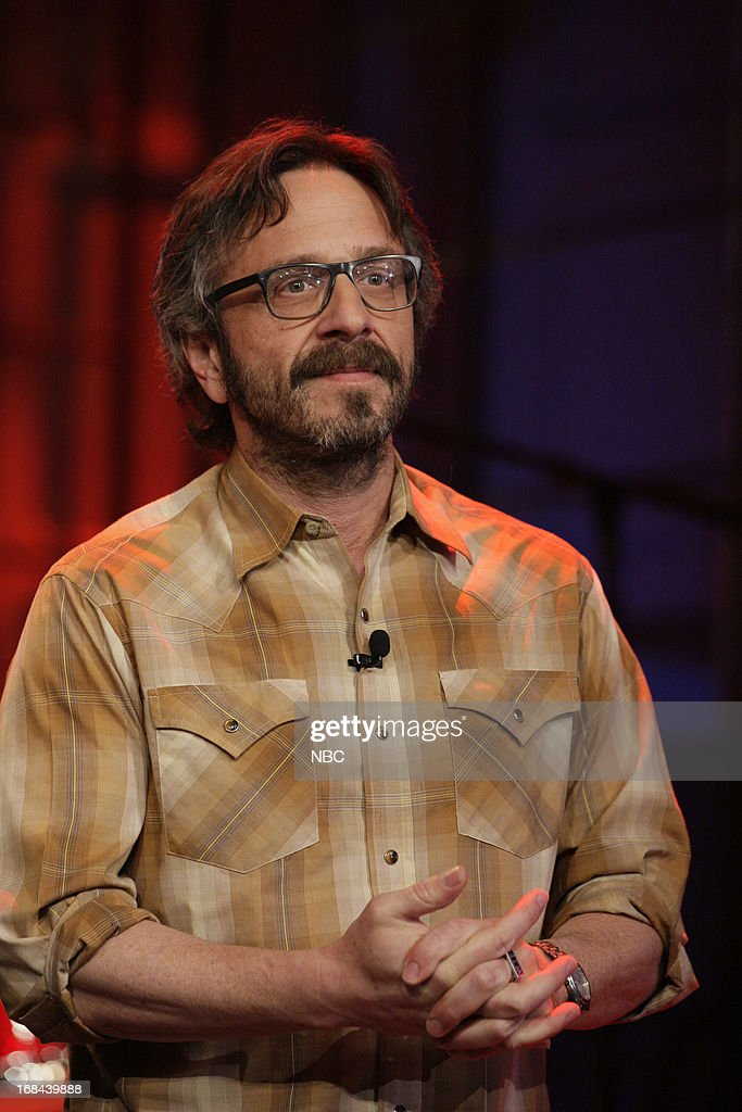 Comedian <a gi-track='captionPersonalityLinkClicked' href=/galleries/search?phrase=Marc+Maron&family=editorial&specificpeople=236022 ng-click='$event.stopPropagation()'>Marc Maron</a> onstage May 9, 2013 --