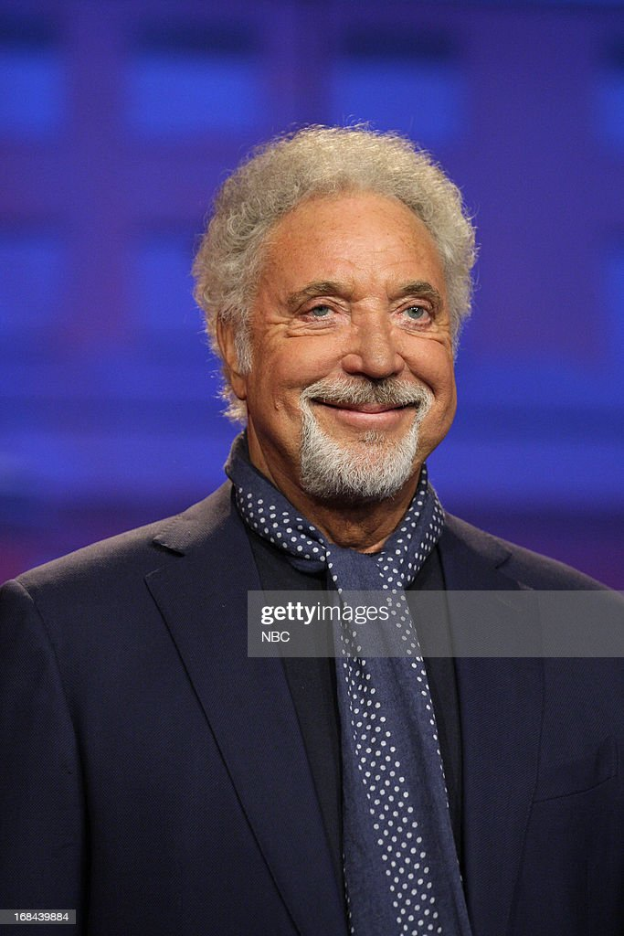 Musical guest Tom Jones onstage May 9, 2013 --