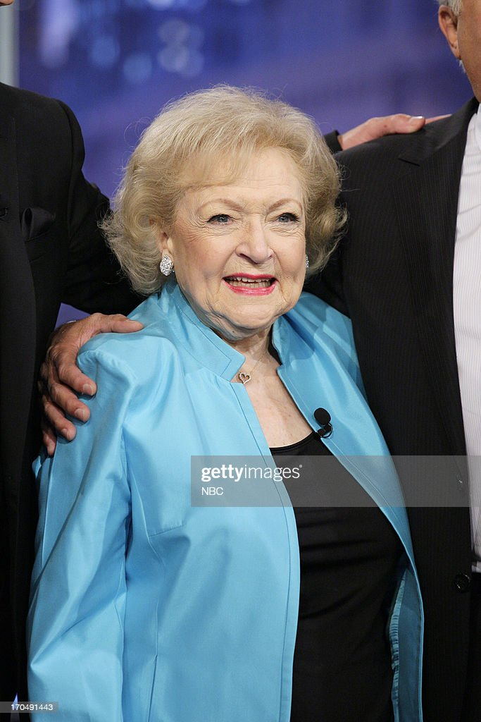 Actress <a gi-track='captionPersonalityLinkClicked' href=/galleries/search?phrase=Betty+White&family=editorial&specificpeople=213602 ng-click='$event.stopPropagation()'>Betty White</a> on June 13, 2013 --