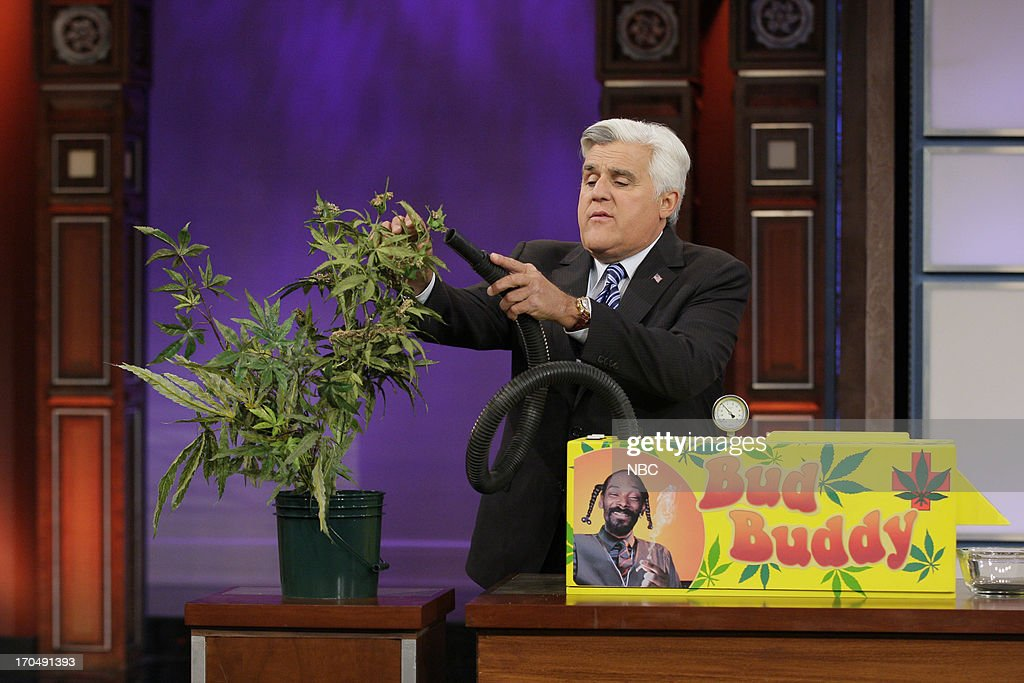 Host Jay Leno during 'Last Minute Father's Day Gifts' skit on June 13, 2013 --