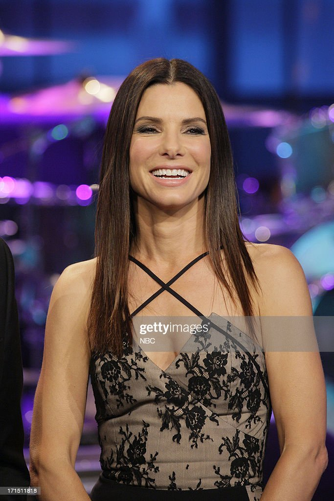 Actress <a gi-track='captionPersonalityLinkClicked' href=/galleries/search?phrase=Sandra+Bullock&family=editorial&specificpeople=202248 ng-click='$event.stopPropagation()'>Sandra Bullock</a> on June 25, 2013 --