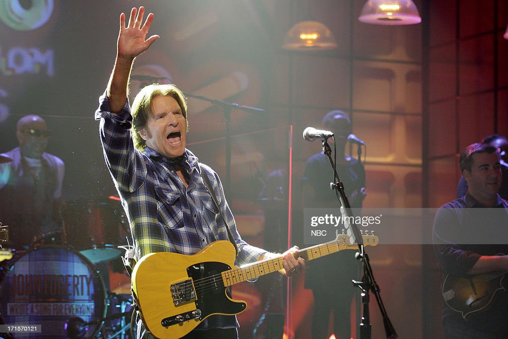 Musical guest <a gi-track='captionPersonalityLinkClicked' href=/galleries/search?phrase=John+Fogerty&family=editorial&specificpeople=210703 ng-click='$event.stopPropagation()'>John Fogerty</a> performs on June 26, 2013 --