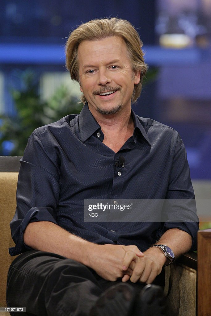 Actor <a gi-track='captionPersonalityLinkClicked' href=/galleries/search?phrase=David+Spade&family=editorial&specificpeople=209074 ng-click='$event.stopPropagation()'>David Spade</a> during an interview on June 27, 2013 --