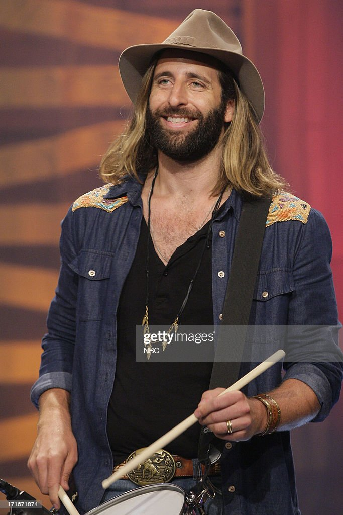 Matt Burr of Grace Potter and the Nocturnals performs on June 27, 2013 --