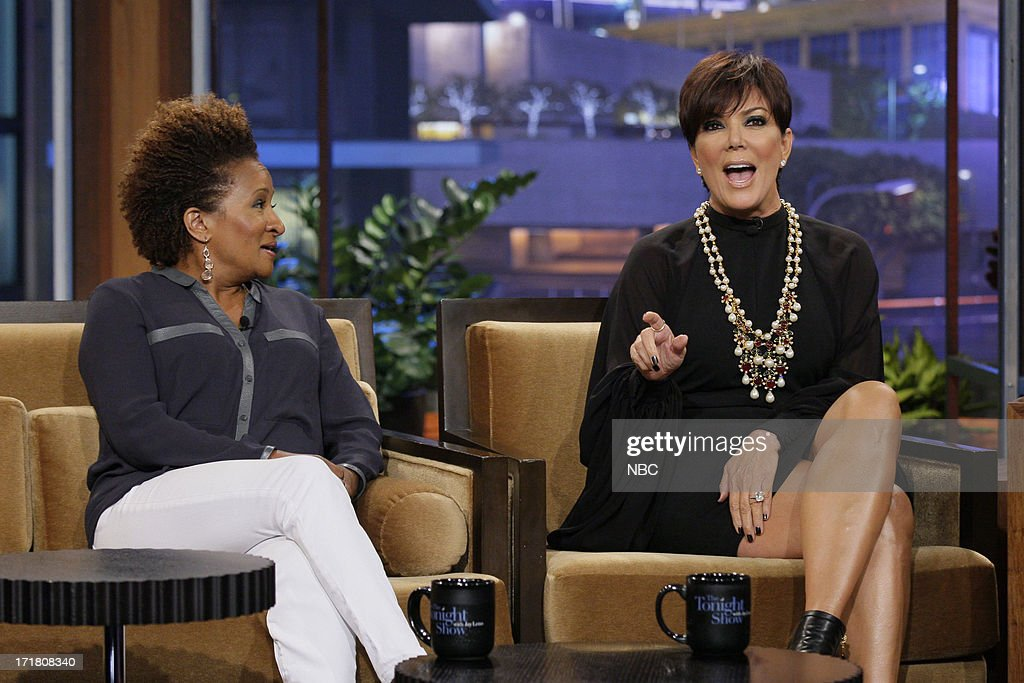 Comedian Wanda Sykes and Kris Jenner during an interview on June 28, 2013 --