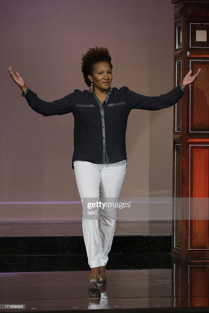 Comedian Wanda Sykes arrives on June 28, 2013 --