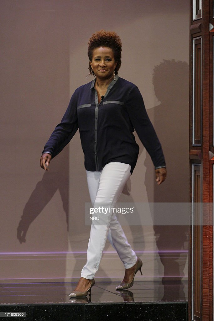 Comedian <a gi-track='captionPersonalityLinkClicked' href=/galleries/search?phrase=Wanda+Sykes&family=editorial&specificpeople=208075 ng-click='$event.stopPropagation()'>Wanda Sykes</a> arrives on June 28, 2013 --