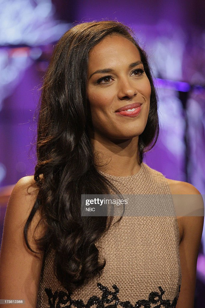 Amanda Sudano of musical guest Johnnyswim on July 15, 2013 --