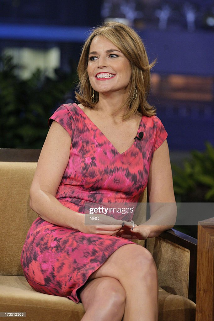 Savannah Guthrie during an interview on July 15, 2013 --