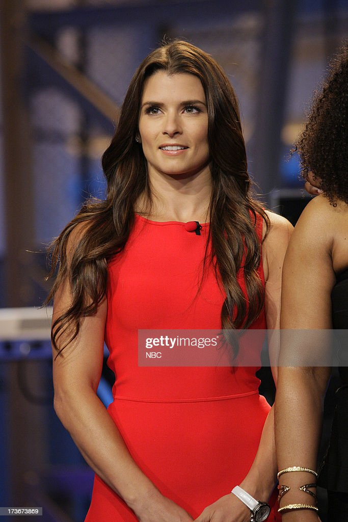 Nascar driver <a gi-track='captionPersonalityLinkClicked' href=/galleries/search?phrase=Danica+Patrick&family=editorial&specificpeople=183352 ng-click='$event.stopPropagation()'>Danica Patrick</a> on July 16, 2013 --