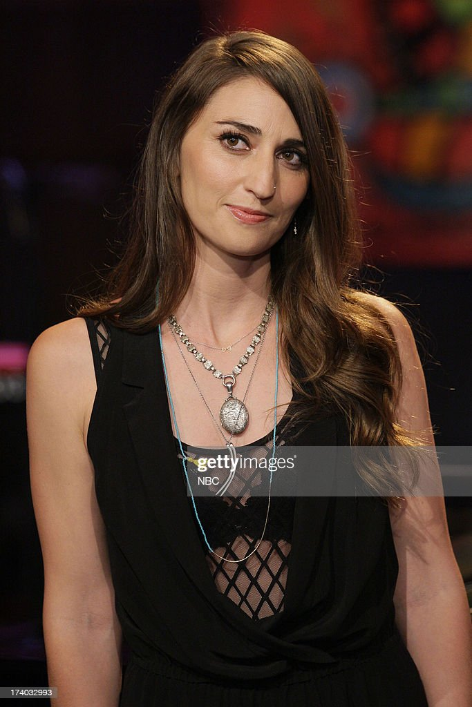 Musical guest <a gi-track='captionPersonalityLinkClicked' href=/galleries/search?phrase=Sara+Bareilles&family=editorial&specificpeople=4116387 ng-click='$event.stopPropagation()'>Sara Bareilles</a> on July 19, 2013 --