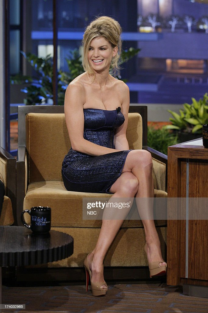 Supermodel Marisa Miller during an interview on July 19, 2013 --