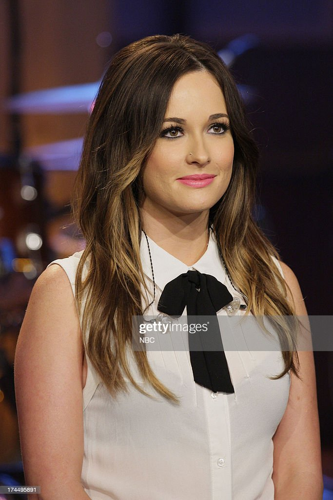 Musical guest Kacey Musgraves on July 23, 2013 --