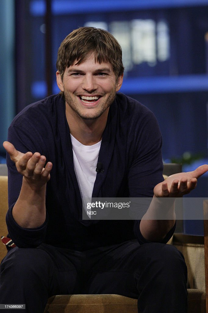 Actor Ashton Kutcher during an interview on July 24 2013